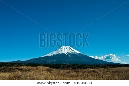 View To Fuji Mount In Japan