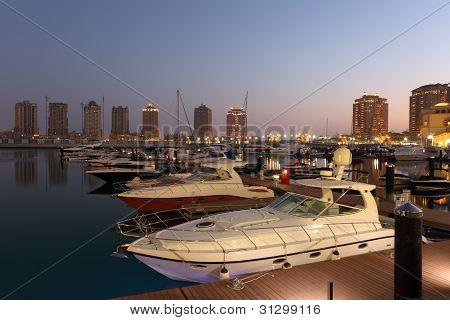 Marina Porto Arabia, Qatar Doha