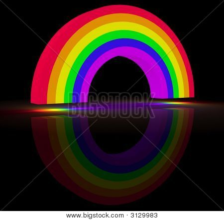 Glowing Rainbow
