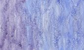 Watercolor Wet Background. Blue .watercolor Abstract Background. Hand Painted Watercolor Background. poster