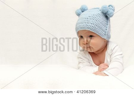 Beautiful Baby In Hat