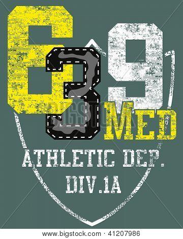 Diseño del número de deportes