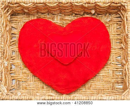 Plush Hearts