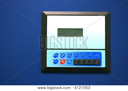 Industrial Air Conditioner Controls And Display