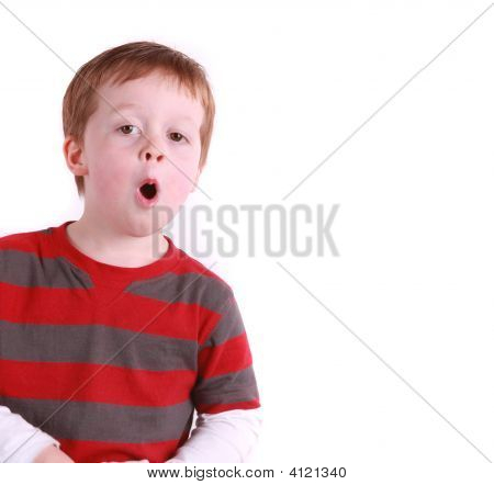 Happy Boy Talking