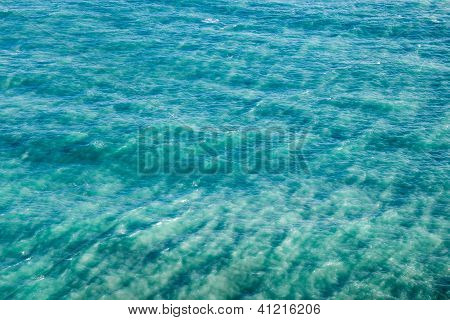 Abstract Background With Sea Surface