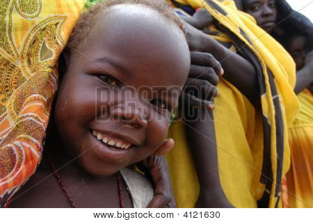 Criança sorridente