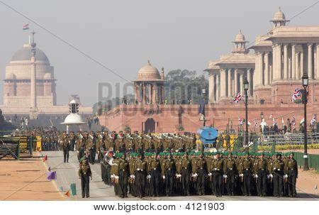 Military Parade, Delhi
