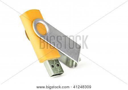 Yellow Usb Memory Stick