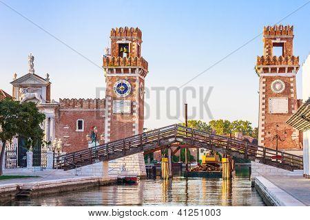 Venice, Arsenale Historic Shipyard