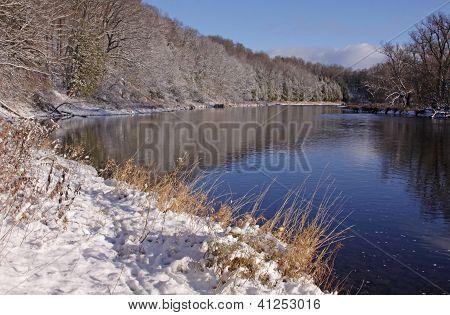 Snowy Grand River