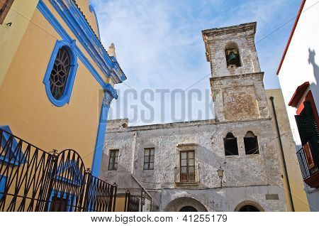 Church of the Immaculate Conception. Gallipoli. Puglia. Italy.
