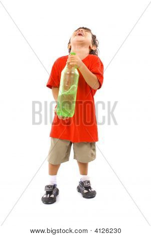 Happy Boy Refreshing