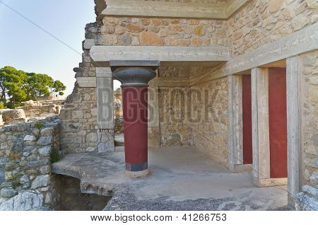 Southwest part of Knossos palace