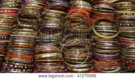 Colourful Wrist Bangles.