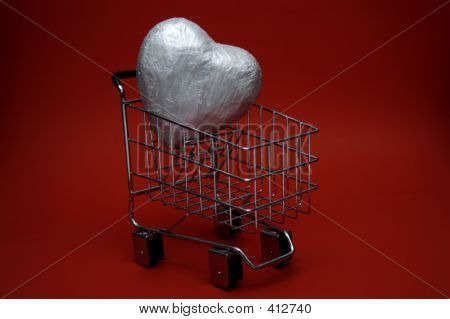 Valentine Heart Shopping