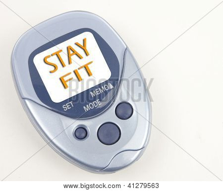 Stay Fit Pedometer