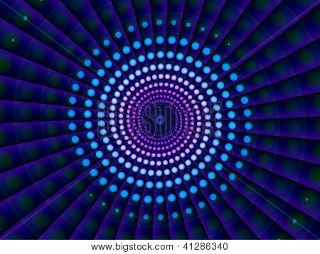 Abstract Digital Techno Blue Background