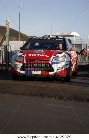 Citroen Team At Wales Rally Gb 2008