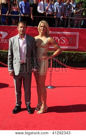 LOS ANGELES - JUL 11: Bode Miller arrives at the 2012 ESPY Awards at Nokia Theater L.A. Live on July 11, 2012 in Los Angeles, California