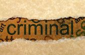 pic of nouns  - Close up of torn paper and Criminal concept - JPG