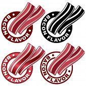 picture of bacon strips  - Bacon Flavor Seal  - JPG