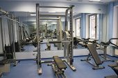 foto of sweatshop  - health club - JPG