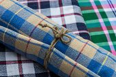 foto of loincloth  - A gift set made from Loincloth in Thailand  - JPG