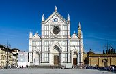 Santa Croce Church In Florence, Italy