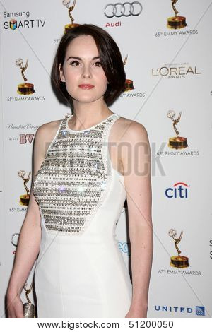 LOS ANGELES - SEP 20:  Michelle Dockery at the Emmys Performers Nominee Reception at  Pacific Design Center on September 20, 2013 in West Hollywood, CA