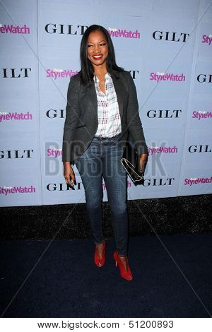 LOS ANGELES - SEP 19:  Garcelle Beauvais at the People Stylewatch Hollywood Denim Partyy at Palihouse on September 19, 2013 in West Hollywood, CA