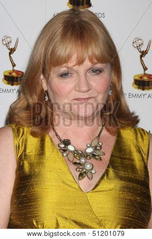 LOS ANGELES - SEP 20:  Lesley Nicol at the Emmys Performers Nominee Reception at  Pacific Design Center on September 20, 2013 in West Hollywood, CA
