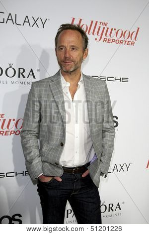 LOS ANGELES - SEP 19:  John Benjamin Hickey at the The Hollywood Reporter's Emmy Party at Soho House on September 19, 2013 in West Hollywood, CA