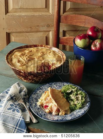 Shepherd's Fall Vegetable Pie