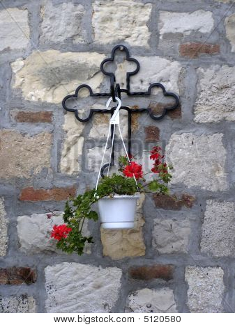 Cross And Pot