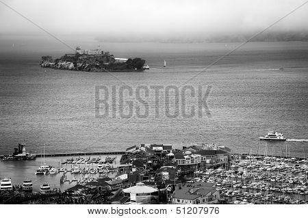 Alcatraz And Pier 39