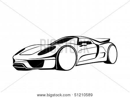 Black super auto