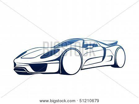 Blue super auto
