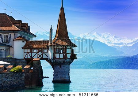 Tower Of Oberhofen Castle