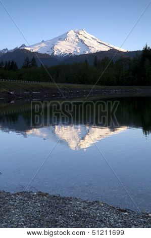 Mount Baker-snoqualmie National Forest Baker Lakes Reflection