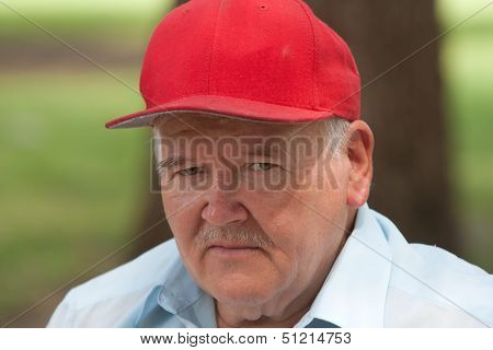 Elderly Man Outside