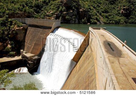 Blyde River Dam Wall 2