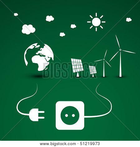 Eco Energy | Vector Illustration