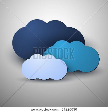 Cloud Computing Concept | Vector Illustration