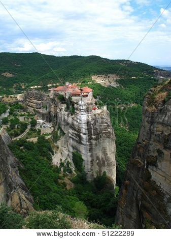 View From Meteora Monastery