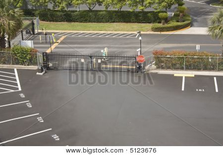 Parking Lot Security Gate