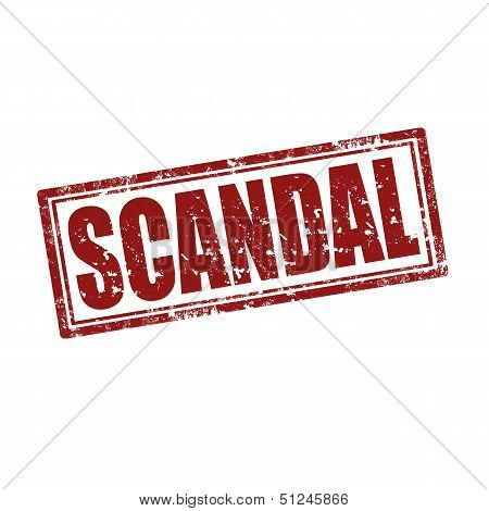 Scandal-stamp