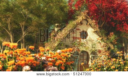 The Garden Cottage, 3D Computer Graphics