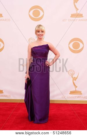 LOS ANGELES - SEP 22:  Melissa Rauch at the  at Nokia Theater on September 22, 2013 in Los Angeles, CA