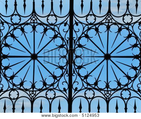 Cast-iron Fence